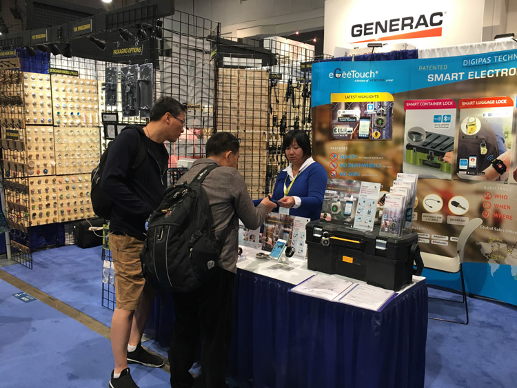 National Hardware Show 2017 Las Vegas Usa Digi Pas Booth 6212