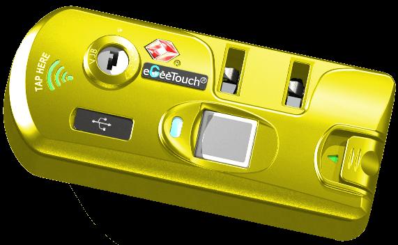 Nfc Fingerprint Zipper Lock Egeetouch Innovative Smart Locks