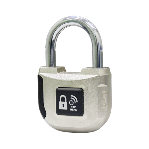 Sliding cabinet doors tracks - Smart Electronic Padlock 33mm Egeetouch Innovative Smart Electronic